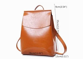 China PU Leather Custom Made Backpacks Casual Personalized Backpacks For Girl factory