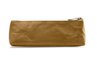 China Environmentally Friendly Pencil Pouch Bag Washable Kraft Paper Pencil Bag factory