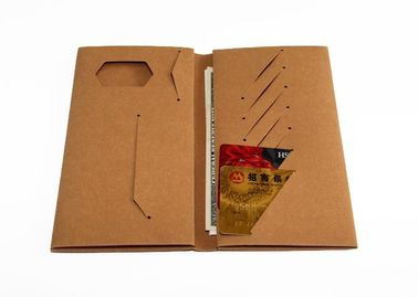 China New design popular washable kraft paper wallet with high quality RFID craft paper wallet factory