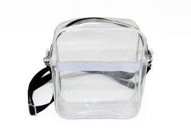 China Fashion Clear Plastic single strap shoulder bag Detachable Strap Crossbody Shoulder Bag factory