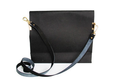 China Multipurpose Pure Color Washable Shoulder Bag Long Chain Paper Handbags For Women factory