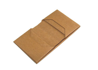 China Custom passport holder wallet washed kraft paper travel passport wallet for men factory