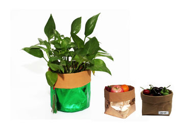 China Planter Grow Washable Paper Storage Bags Food Storage Custom Reusable Recycling factory