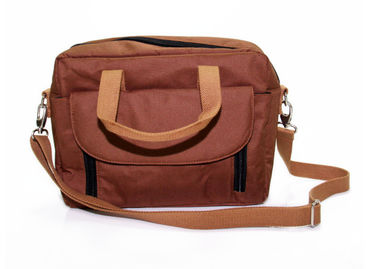 China Silk Screen Printing Light Weight Shoulder Bag , Crossbody Laptop Messenger Bag factory
