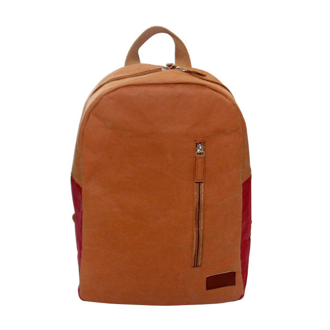 New Style Washable Paper Backpack Environmental Load Reduction Student Backpack supplier