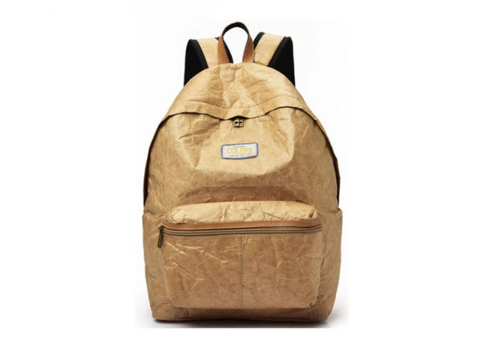 3801aa493f27 Customizable size internal frame waterproof foldable backpack for hiking  reusable tyvek paper backpack