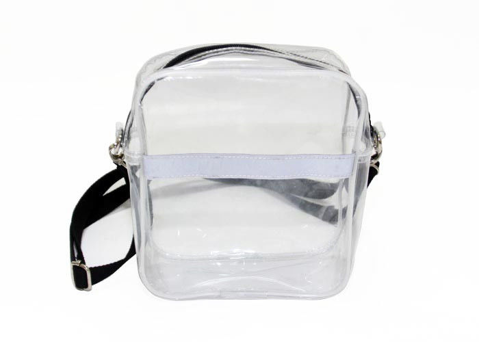 Fashion Clear Plastic single strap shoulder bag Detachable Strap Crossbody Shoulder Bag supplier