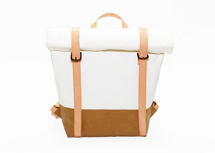 Customized Washable Paper Backpack Recycled Lightweight In Leisure Style supplier