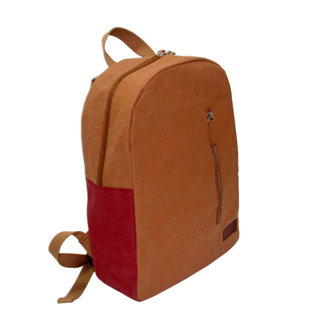 New Style Washable Paper Backpack Environmental Load Reduction Student Backpack