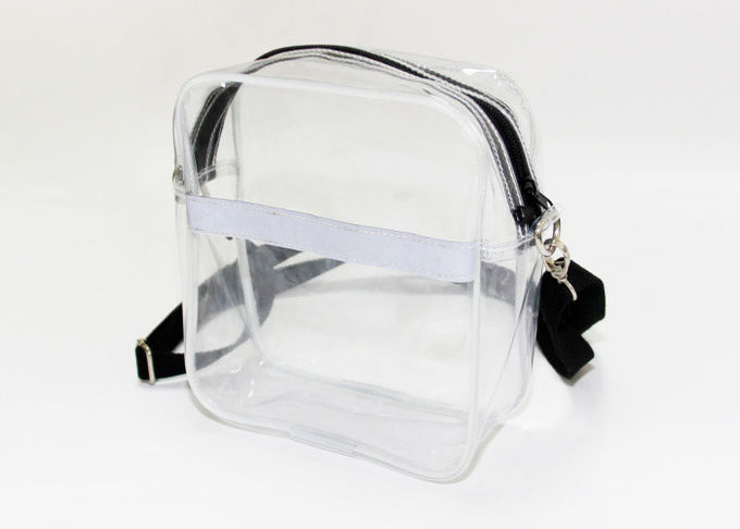 Fashion Clear Plastic single strap shoulder bag Detachable Strap Crossbody Shoulder Bag